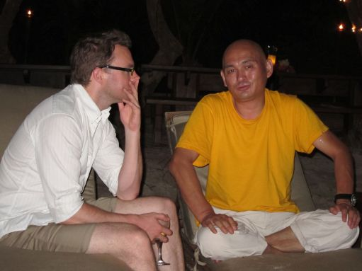 Exclusive Photos: Dalai Lama's Emissary Lama Tenzin on 'Nxivm' Island With Allison Mack Img_0343