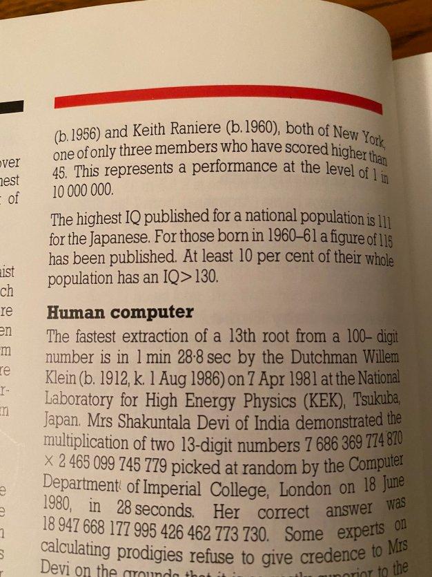 Keith Raniere IQ Guiness Book