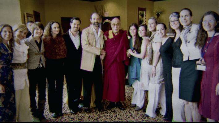 Dalai Lama with Nxivm Members