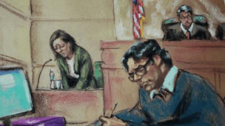 Lauren Salzman in Court