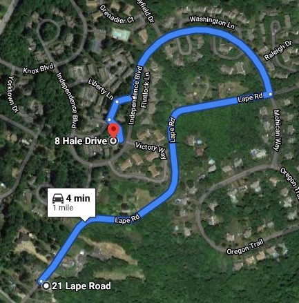 Nxivm Knox Woods Google Maps Directions