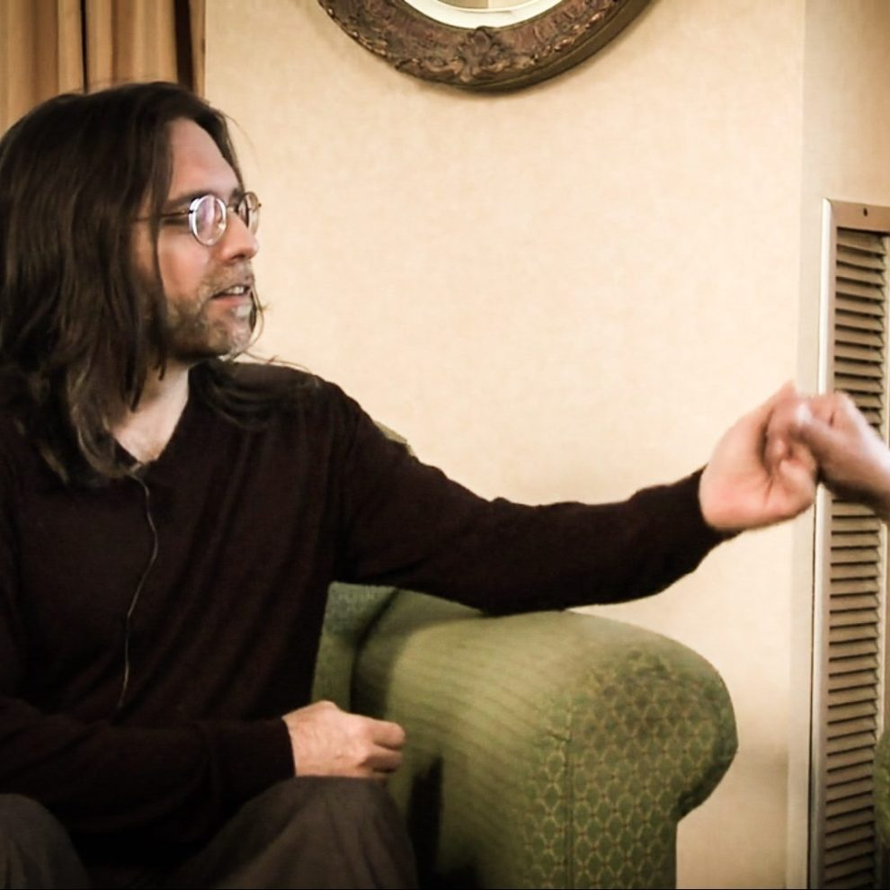 Nxivm Keith Raniere Holding Hands with Unknown Person