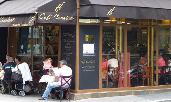 Café Constant leuk restaurant Parijs