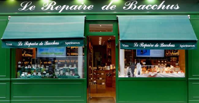 Goede wijnwinkel in Parijs