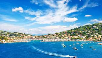 De Corniche van Menton en Nice langs de Franse Rivièra