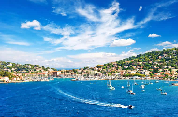 Riviera tussen Nice en Menton