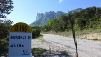 Door de Drôme via Sault naar de Côte d'Azur