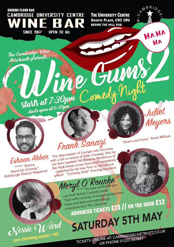 Wines Gums 2 Comedy Night (Cambridge)