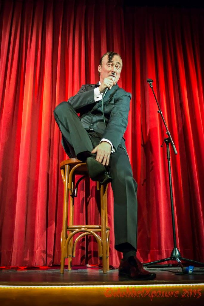 Frank Sanazi on stage