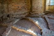 Deckengewölbe in der Schlossruine