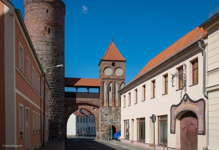 Das Zinnaer Tor in Jüterbog
