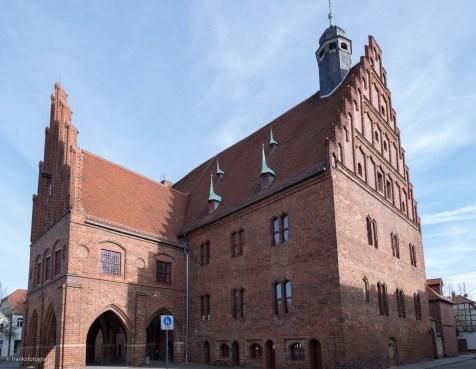 Westgiebel Rathaus Jüterbog