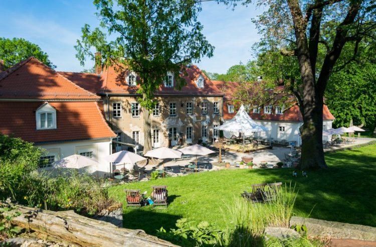Schloss Moritzburg Fasanerie Marcolinihaus