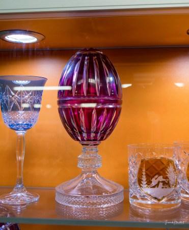Hunderte eiförmige Pralinengefäße wie dieses zierten die Hochzeitstafel von Prinz William und Kate