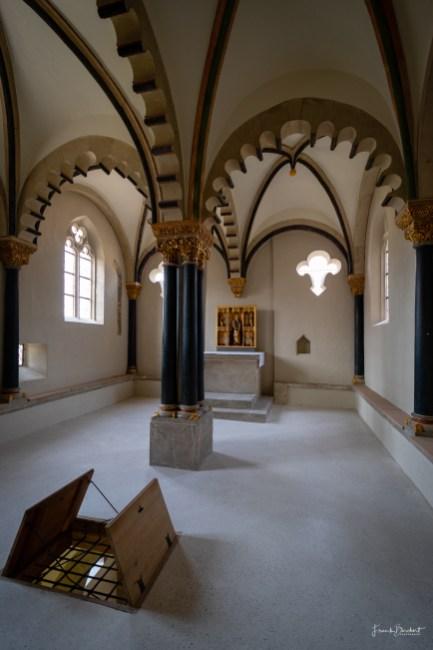 Das Obergeschoss der Doppelkapelle