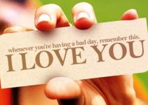 I Love You Qoutes