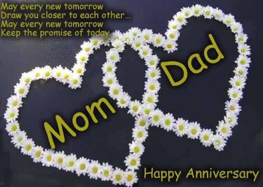 Top anniversary wishes for parents