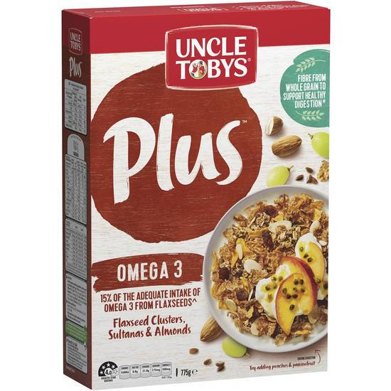 Uncle Tobys Cereal Plus Omega