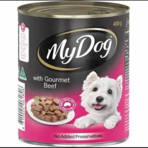 My Dog Gourmet Beef Loaf Classics Wet Dog Food Can 400g
