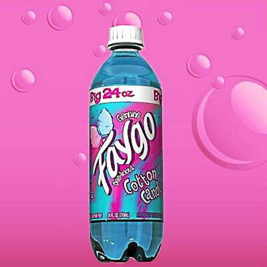 Faygo Cotton Candy Drink 680ml