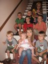 My nieces and nephews at my  maternal grandparents home