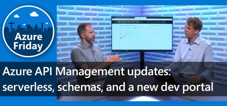 Azure API Management Updates
