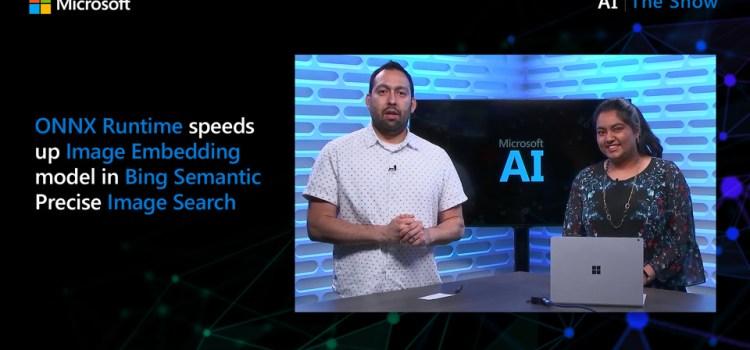 Speeding Up Image Embedding Model in Bing Semantic Precise Image Search with the ONNX Runtime