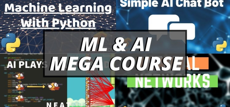 Python Machine Learning & AI Mega Course
