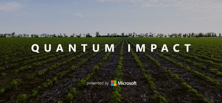 Quantum Impact: Computing a More Sustainable Future