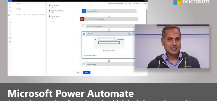 Robotic Process Automation with Microsoft Power Automate, UI flows and AI Builder