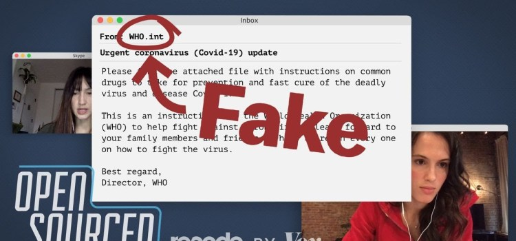 How and Why Coronavirus Scammers Can Send Fake Emails from the WHO