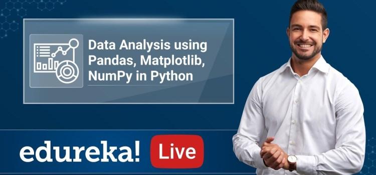 Data Analysis Using Pandas, MatplotLib, and Numpy in Python