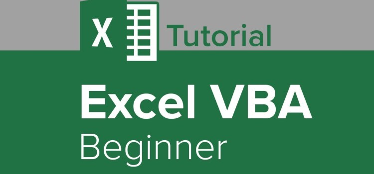 Excel VBA Beginner Tutorial