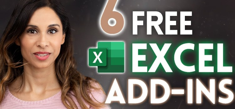 6 Free Add-Ins for Excel to Start Using Now