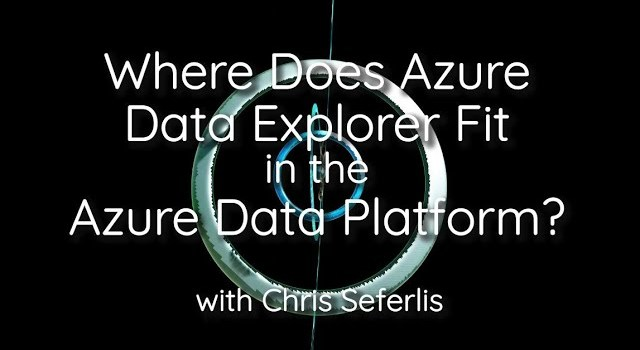 Where does Azure Data Explorer fit in the Azure Data Platform?