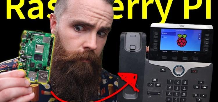 A Raspberry Pi Powered Phone System?!