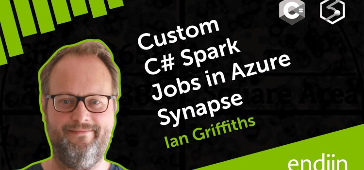 Custom C# Spark Jobs in Azure Synapse Analytics