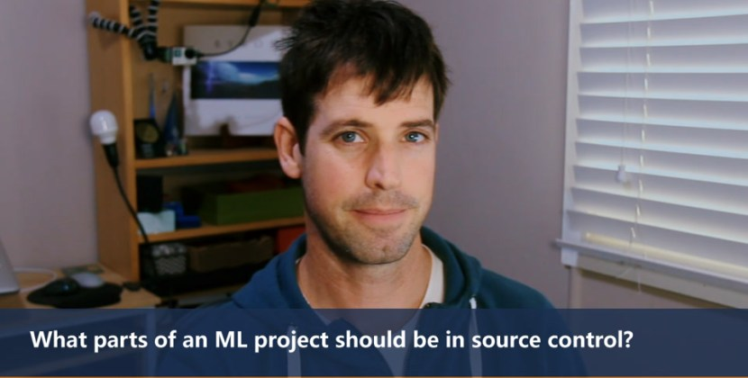What Parts of an ML Project Should Be in Source Control?