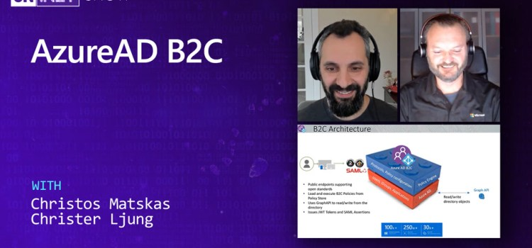 Using AzureAD B2C for Authenticating Users