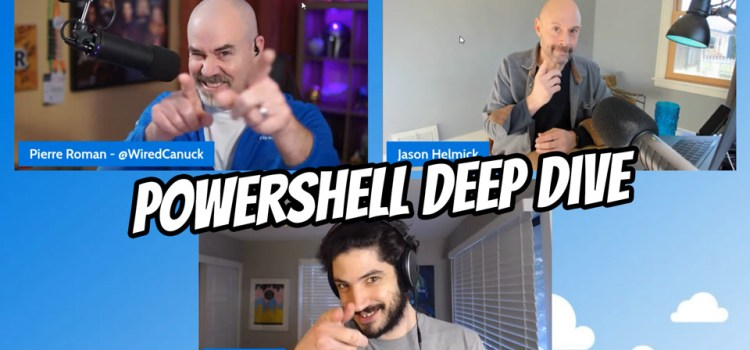 PowerShell Deep Dive