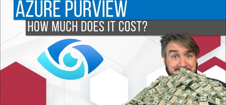 How Much Does Azure Purview Cost?