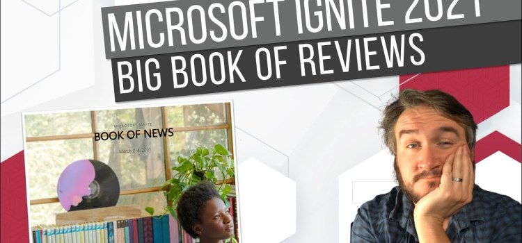 Data & AI Updates at Microsoft Ignite 2021