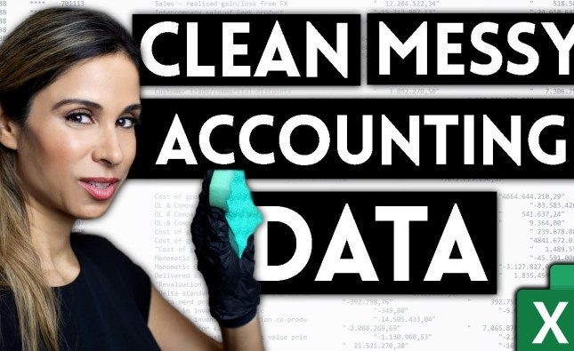 How To Import & Clean Messy Accounting Data in Excel | Use THIS to Import SAP Data