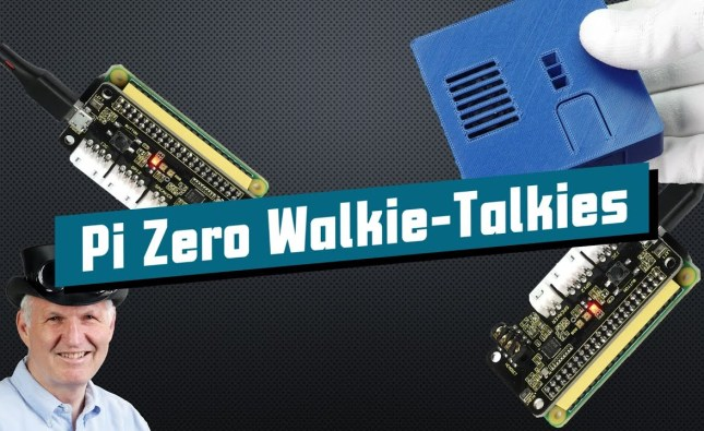 Long-Range Walkie-Talkies using a Raspberry Pi Zero