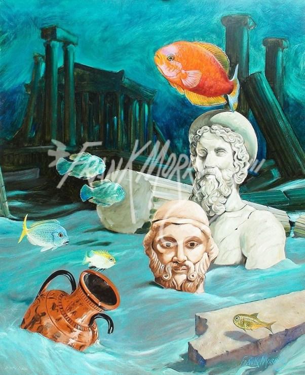 (Y578) Atlantis Dream 110 x 80 cm $300