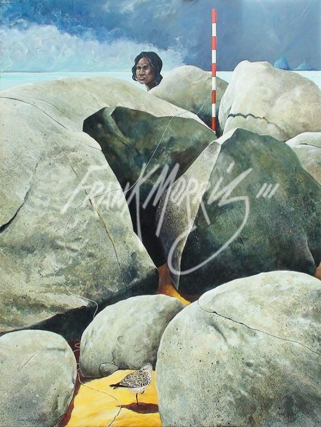 (Y325) Siesta Rocks 122 x 91 cm $647.50