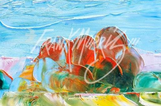 (YPK7) Olgas 15 x 21 cm $40