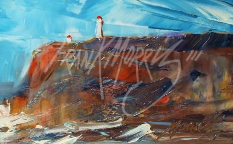 (YPK179) Rough Weather, Cape Nelson 10x15 cm $125