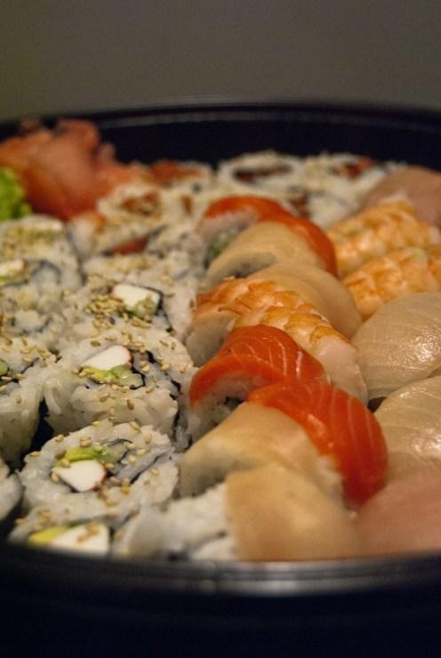 Sushi an jeder Ecke