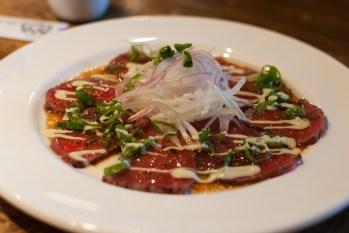 Japanese Beef Carpaccio